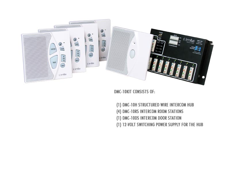 M&S DMC10KIT Intercom