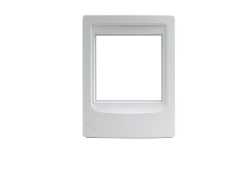 Linear MSDMCFRW: Patio Station Retrofit Mounting Frame (White)