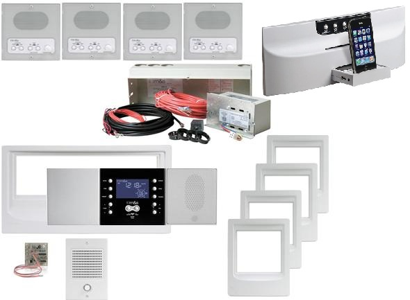 Music and Sound Intercom System Kit DMC34KI - DMC34KI4WH