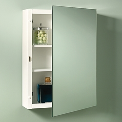 NuTone 235P26WH Single-Door Surface Mount Cabinets