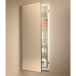 NuTone 460P34CH Single-Door Recessed Cabinets