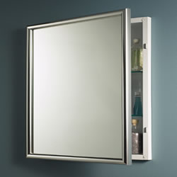 NuTone 533124 Harmony Aluminum Finish-Single-Recessed