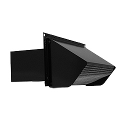 Broan 639 Wall Cap - Black
