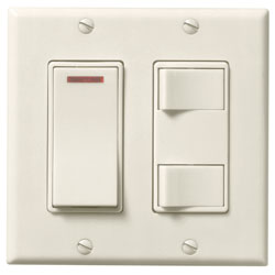 Broan685VL Bathroom Fan Wall Control CLEARANCE ITEM!
