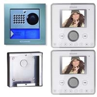 Cyrex 8495WU-2 Planux Family Video Intercom Kit-White
