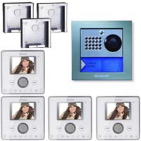 Cyrex 8495WU-4 Planux Family Video Intercom Kit-White