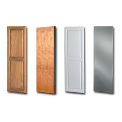 NuTone AVDOFPN(Birch Unfinished) Custom Door - Birch Flat Panel (unfinished)