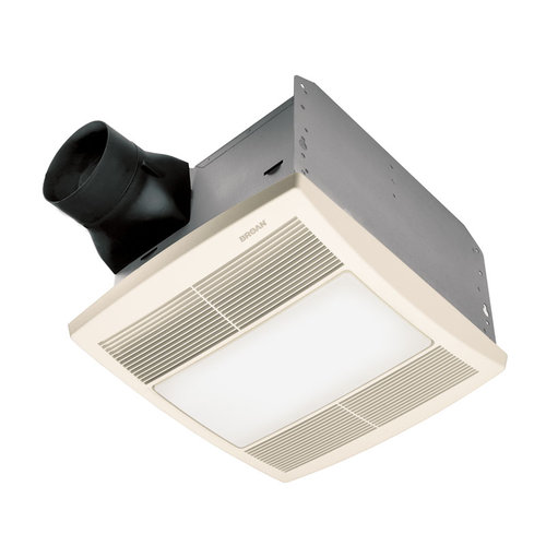 Broan QTRE080FLT Bathroom Fan 80 Cfm, 0.8 Sones, Energy Star qualified