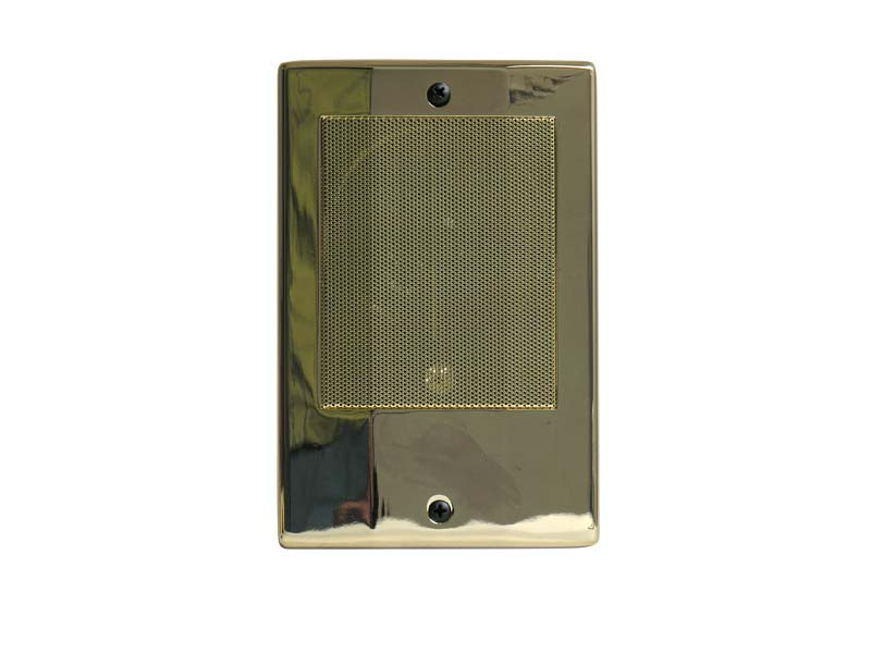 Linear BD3N Intercom Door Station (Bright Brass)