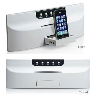 Linear MSDMC1 DMC1 iPlay™ Dock for iPod® - MP3 Player & CD Player (White)