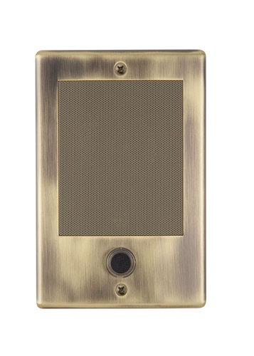 The NDB300AB NM Series Door Speaker-Antique Brass