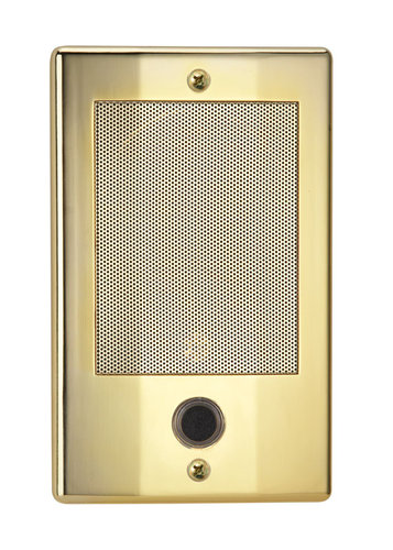 The NDB300BB NM Series Door Speaker-Brass Finish