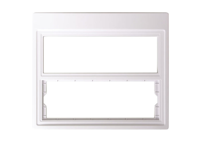 NuTone NF100CWH Master and CD Combination Retrofit Frame - White