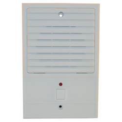 Valet Louvered Style White Door Station - Louvered White