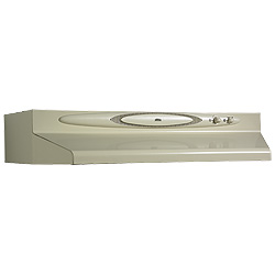 Broan QT236AA Under Cabinet Range Hood - 36 Inch, Almond On Almond