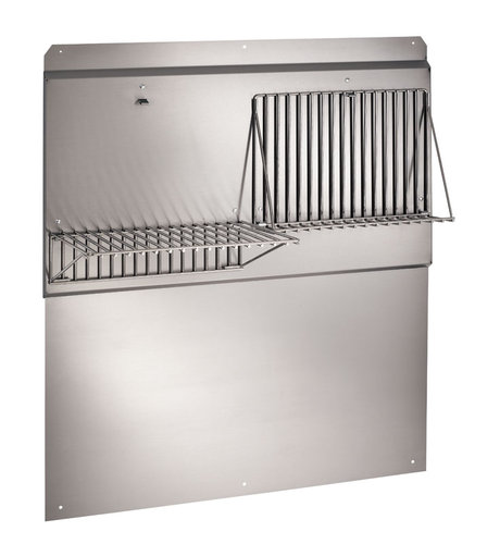 "Broan RMP5404 54"" Stainless Steel Backsplash"