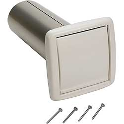 "Broan WC650 4"" Wall Cap"