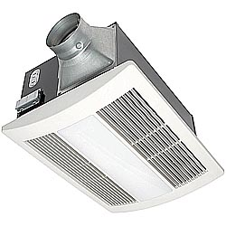 Panasonic FV-11VH2 Whisper Warm - 110 CFM Ceiling Mounted Fan/Heat Combination