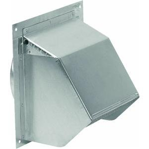 Broan Wall Cap 642 Broan, Broan Wall Cap, Broan 642, Wall Cap, Aluminum Wall Cap, 4 Inch Duct
